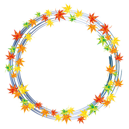 encircle: Ring of maple blue