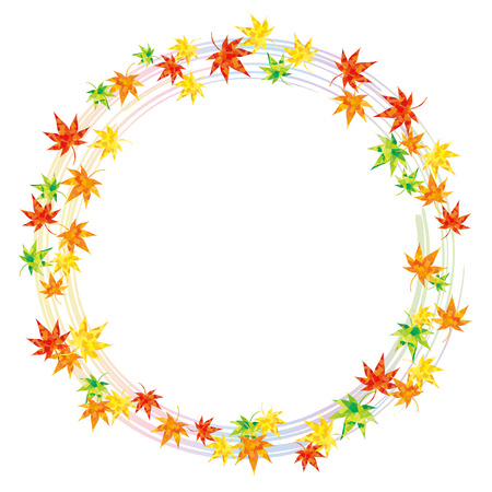 encircle: Ring of maple rainbow