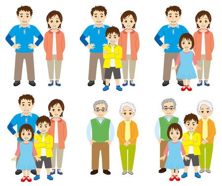 structure familiale Vecteurs