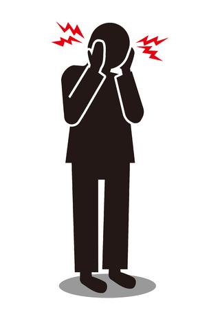 mark of headache