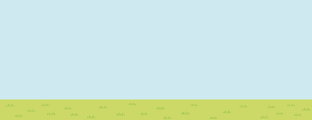 Illustration of prairie scenery - blue sky and grassy plain - for more landscape format