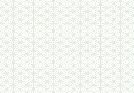 seamless hemp leaf pattern background - gray line plus white background -