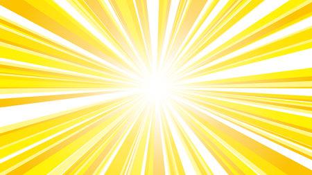 vector illustration of yellow flash with gradation 向量圖像