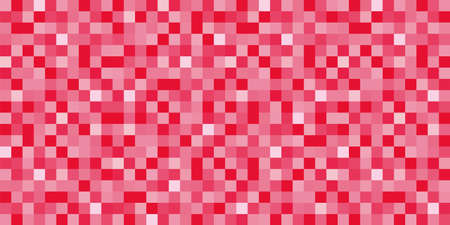 seamless background texture of mosaic style grid - pink version - vector illustration