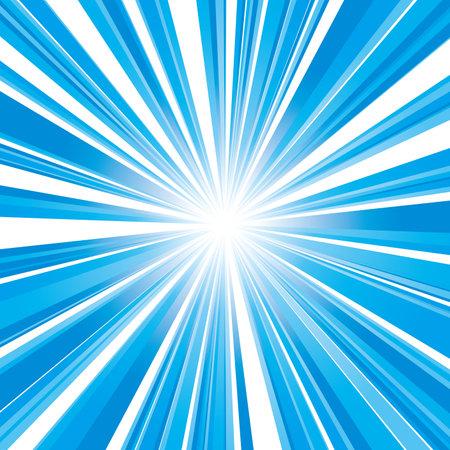 vector illustration of light blue square flash with gradation
