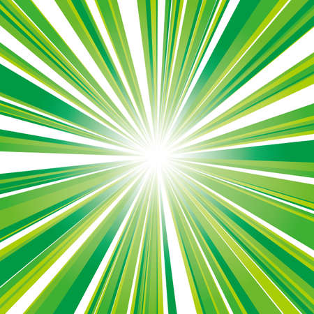 vector illustration of yellow-green square flash with gradation