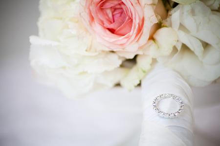 ślub: Bukiet ?lubny Zdjęcie Seryjne