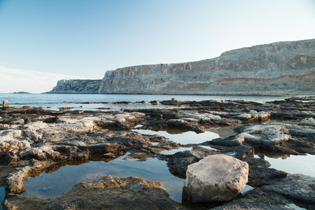 nger: Rocky coast Stock Photo