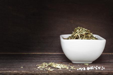 globuli: Herbal tea and globuli