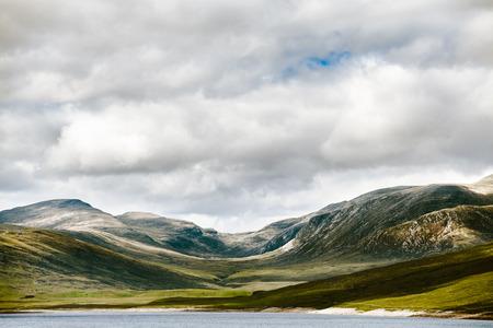 copysapce: Lonely highland landscape
