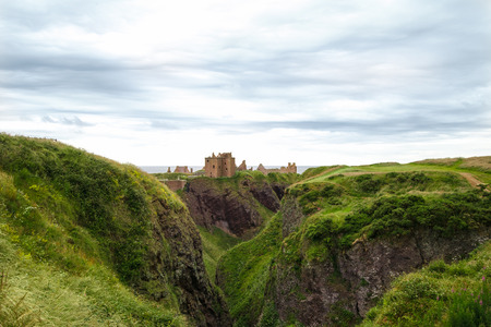 Remains of Dunnottar Castle, Scotland