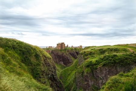 dunnottar castle: Remains of Dunnottar Castle, Scotland