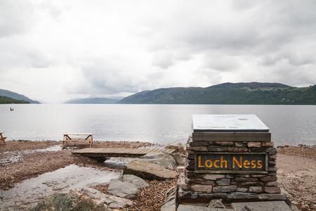 Touristenattraktion Loch Ness Standard-Bild - 44645136