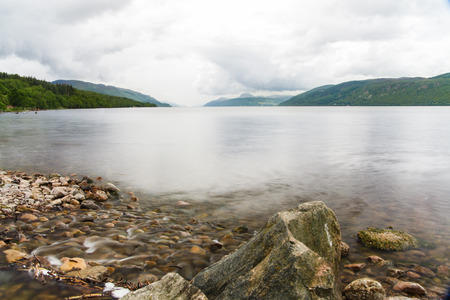 loch ness: Loch Ness, Scotland Stock Photo
