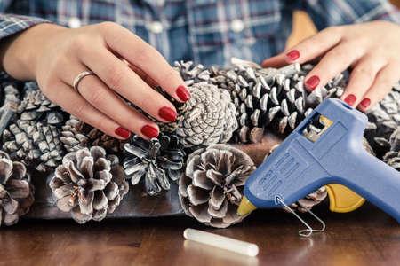 crafting: Mujer corona de elaboraci�n