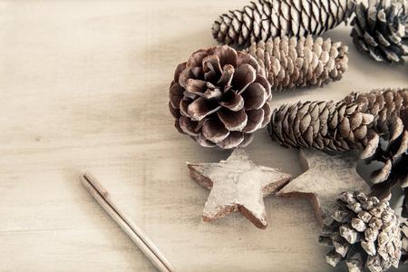 pinecone: Pinecone decoration for christmas Stock Photo