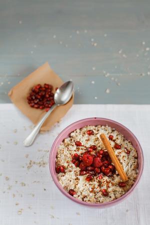 porridge: Bowl of quinoa porridge