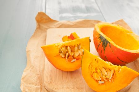 nutriments: Pumpkin slices Stock Photo