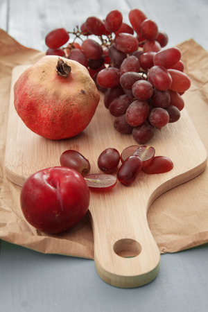 free radicals: Red Healthy Fruits