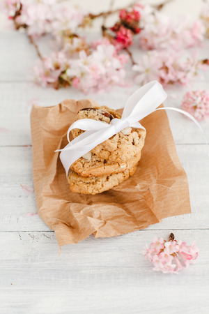 nutriments: Almond biscuits Stock Photo