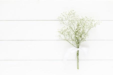 babys: Babys breath bouquet background