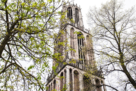 Kathedrale Turm von Utrecht, Niederlande Standard-Bild - 77714344