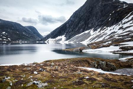 Dalsnibba-Gletscher, Norwegen Standard-Bild - 82731964