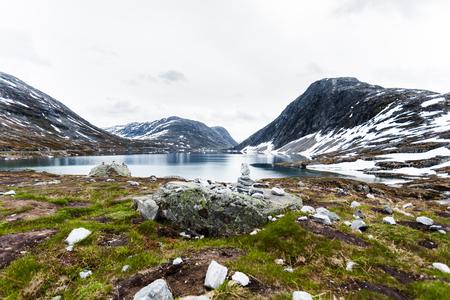 Norwegian landscape Stock fotó