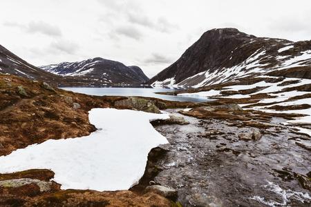 Glacier scenery Banco de Imagens