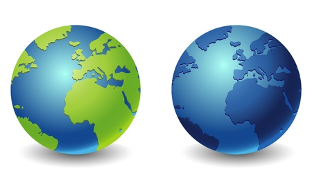 world globe icon Stock Vector - 14594506