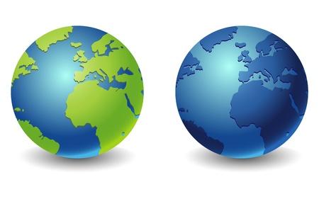 world globe icon Illustration