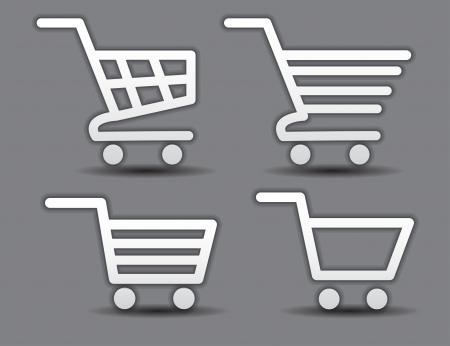 shopping cart icon: Icon Illustration