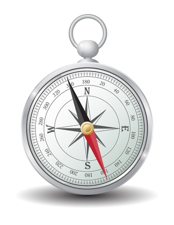 compass rose: Icon Illustration