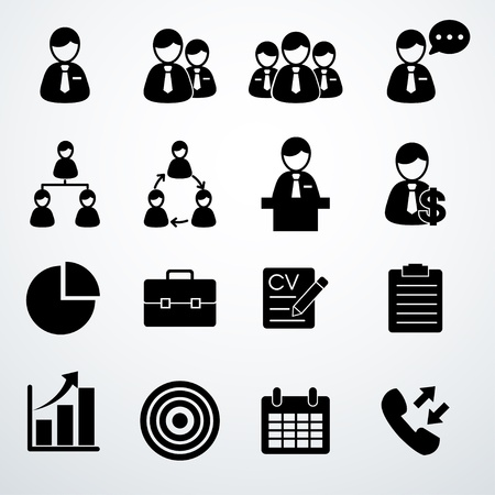 Icons set Stock Vector - 20274400