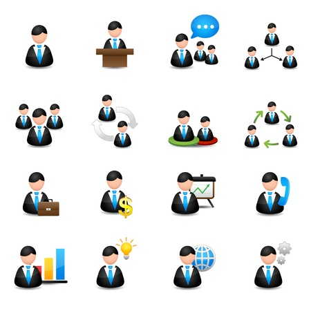 Icons set  Stock Vector - 20274428