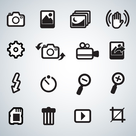 zoom in: Icons set