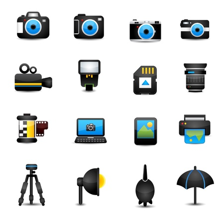 polarizing: camera icon