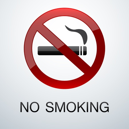 No smoking background Vector