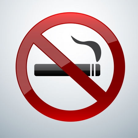 no smoking: no smoking icon Illustration