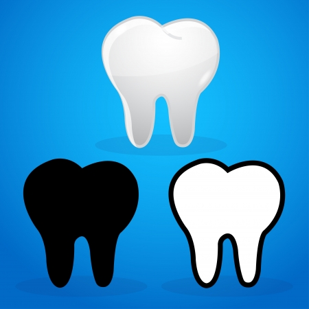 mouth cavity: dentist icon