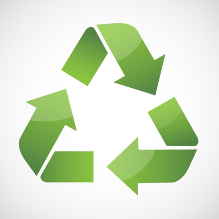 recycling icon Illustration