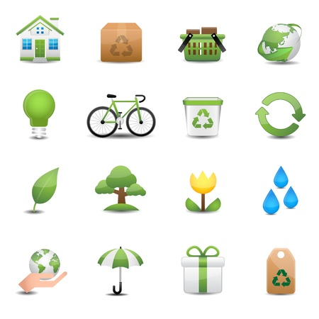 recycle icon  イラスト・ベクター素材