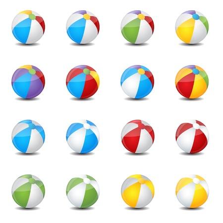 beach ball: balloon