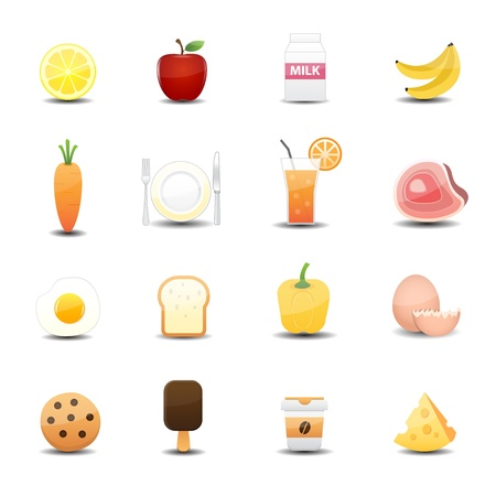 food icon Illustration