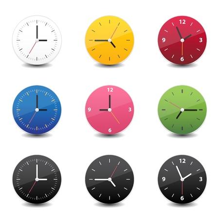 uhr icon: Uhr-Symbol Illustration