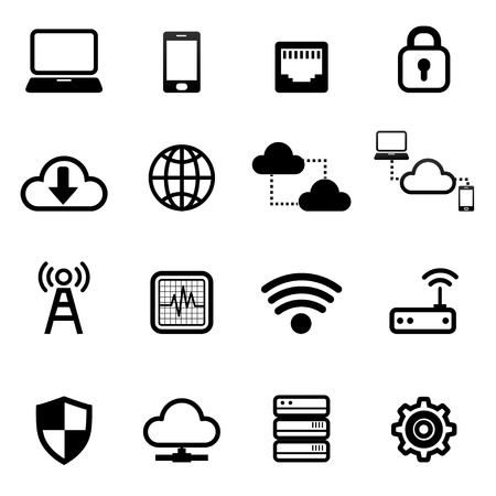 network switch: icon