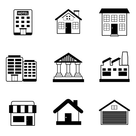 building icon Stock Vector - 21127949