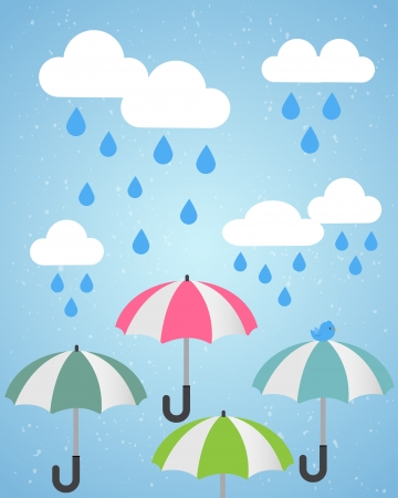 monsoon clouds: heavy rain