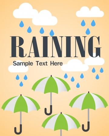 raining icon Vector