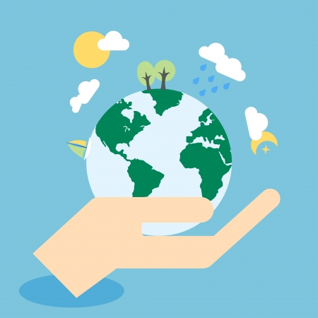 ahorrar agua: Ecolog?a concepto